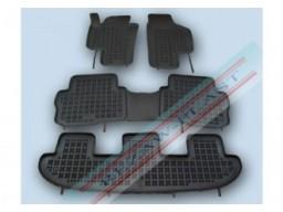 Autorohože gumové so zvýšeným okrajom VW Sharan II. (7-miest, od r.v. 2010)
