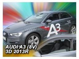 Deflektory - protiprievanové plexi Audi A3 III. Sportback (3-dverový, od r.v. 2013)