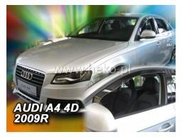 Deflektory - protiprievanové plexi Audi A4 B8 (4-dverový, od r.v. 2009)