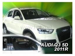 Deflektory - protiprievanové plexi Audi Q3 (5-dverový, od r.v. 2011)