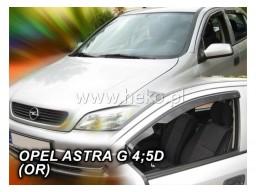 Deflektory - Protiprievanové plexi Opel Astra G (5-dverový, od r.v. 1998)