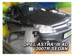 Deflektory - Protiprievanové plexi Opel Astra H Sedan (+zadné, 5-dverový, od r.v. 2004)
