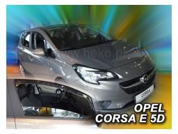 Deflektory - Protiprievanové plexi Opel Corsa E (od r.v. 2015)
