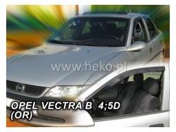 Deflektory - Protiprievanové plexi Opel Vectra B (+zadné, 4-dverový, od r.v. 1996-2002 Sedan)