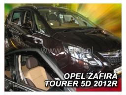 Deflektory - protiprievanové plexi Opel Zafira C (5-dverový, od r.v. 2011)