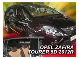 Deflektory - protiprievanové plexi Opel Zafira C (+zadné, 5-dverový, od r.v. 2012)