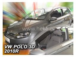 Deflektory - Protiprievanové plexi VW Polo V. (3-dverový, od r.v. 2009)