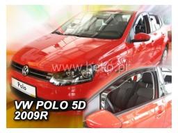 Deflektory - Protiprievanové plexi VW Polo V. (5-dverový, od r.v. 2009)