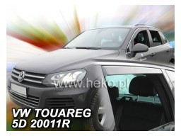 Deflektory - Protiprievanové plexi VW Touareg II. (od r.v. 2010)