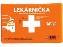Autolekárnička pre osobnú a nákladnú dopravu - plastový obal [POVVYB]