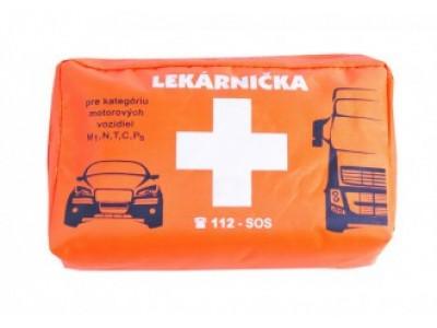 Autolekárnička pre osobnú a nákladnú dopravu - textilný obal