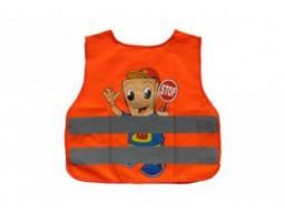 Vesta reflexná - detská CHLAPEC - oranžová [POVVYB]