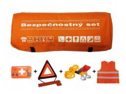 Taška povinnej výbavy - bezpečnostný set - oranžový