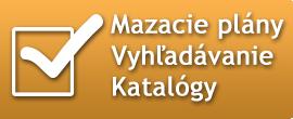 Mazacie plány, vyhľadávanie a katalógy