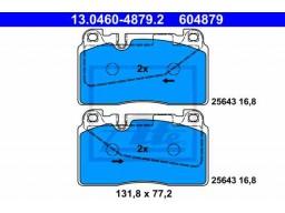 Brzdové platničky ATE 13.0460-4879.2 (predné)