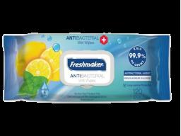 Freshmaker antibakteriálne vlhčené obrúsky 120ks