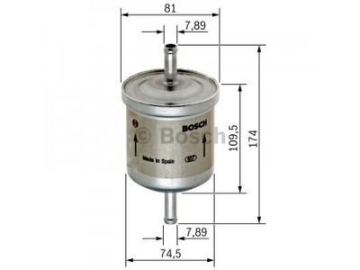 0450905318 - Palivový filter BOSCH