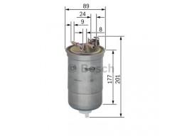 0450906374 - Palivový filter BOSCH