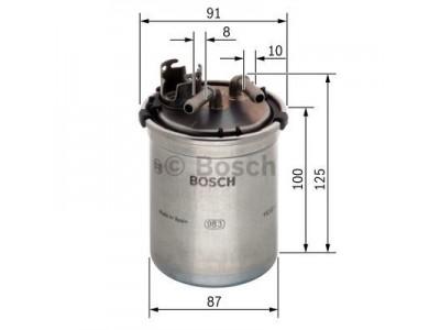 0450906426 - Palivový filter BOSCH