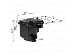 0450907006 - Palivový filter BOSCH