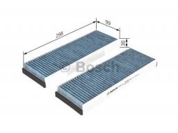0986628505 - Kabínový filter BOSCH (s aktívnym uhlím antibakteriálny)