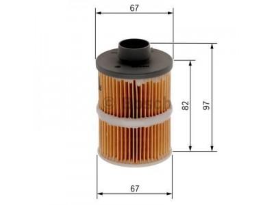 1457070001 - Palivový filter BOSCH