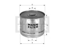 P935/2x - Palivový filter MANN