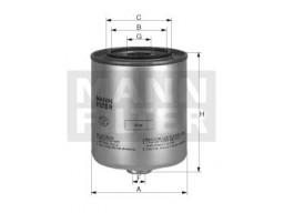 WK9048x - Palivový filter MANN