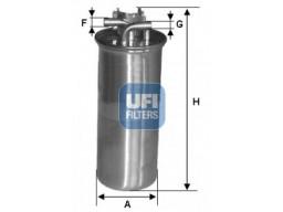 24.001.00 - Palivový filter UFI