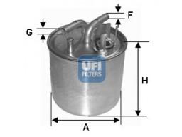 24.002.00 - Palivový filter UFI
