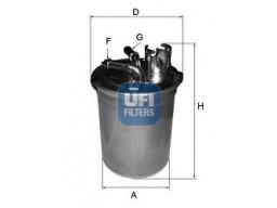 24.004.00 - Palivový filter UFI