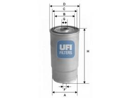 24.012.00 - Palivový filter UFI