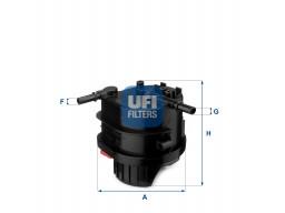 24.015.00 - Palivový filter UFI