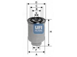 24.017.00 - Palivový filter UFI