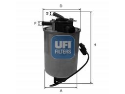 24.018.01 - Palivový filter UFI