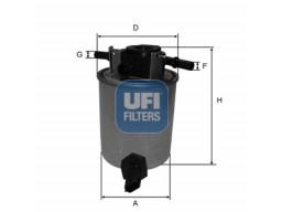 24.020.01 - Palivový filter UFI
