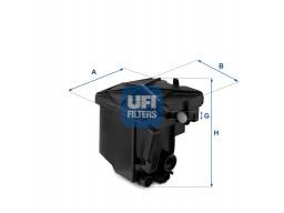 24.027.00 - Palivový filter UFI