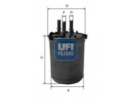 24.033.00 - Palivový filter UFI