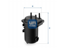 24.051.00 - Palivový filter UFI