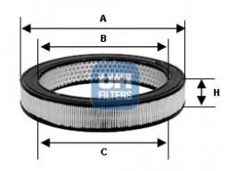27.057.00 - Vzduchový filter UFI