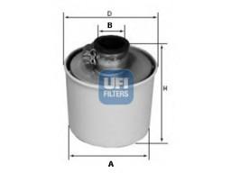 27.091.00 - Vzduchový filter UFI