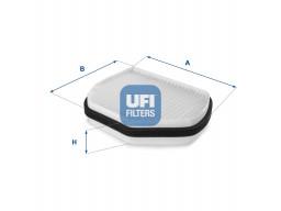 53.007.00 - Kabínový filter UFI