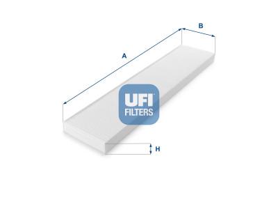 53.017.00 - Kabínový filter UFI