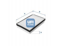 53.033.00 - Kabínový filter UFI