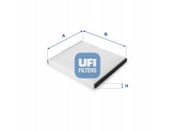 53.050.00 - Kabínový filter UFI