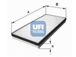 53.054.00 - Kabínový filter UFI (s aktívnym uhlím)