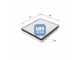 53.057.00 - Kabínový filter UFI