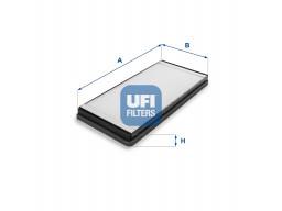 53.059.00 - Kabínový filter UFI
