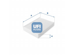 53.060.00 - Kabínový filter UFI