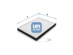53.064.00 - Kabínový filter UFI